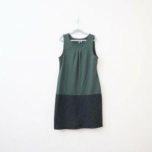 Ibex Sierra Vista Shift Dress Merino Wool Green
